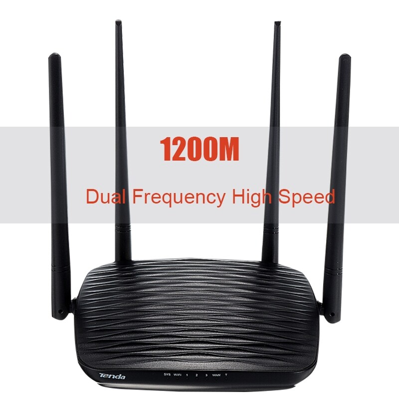 Modems & Routers - Wireless-N Smart Router WiFi Range Extender 2.4G & 5G for Home Office 1200Mbps - Network Components