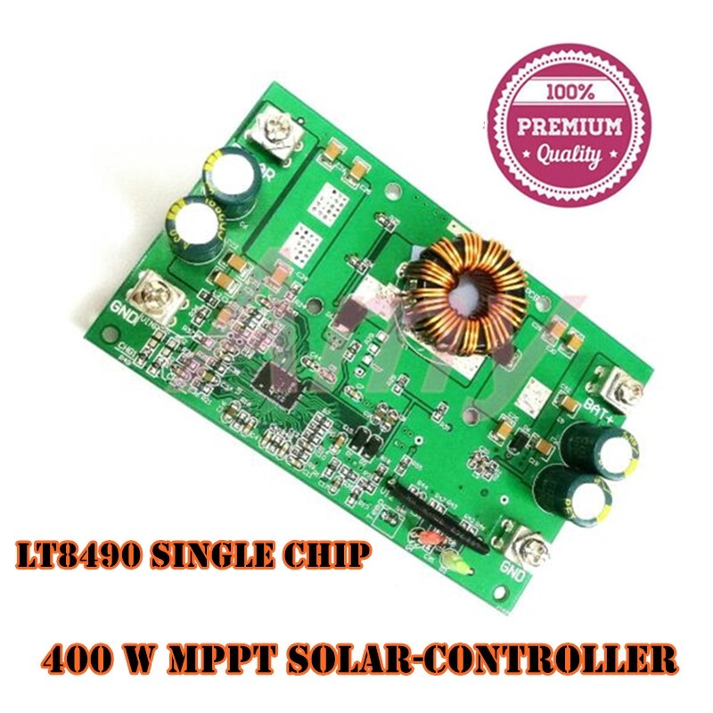 1 PIECE(s) 400 W MPPT Solar-Controller LT8490 Single Chip Intelligent Control Battery Charging Concise