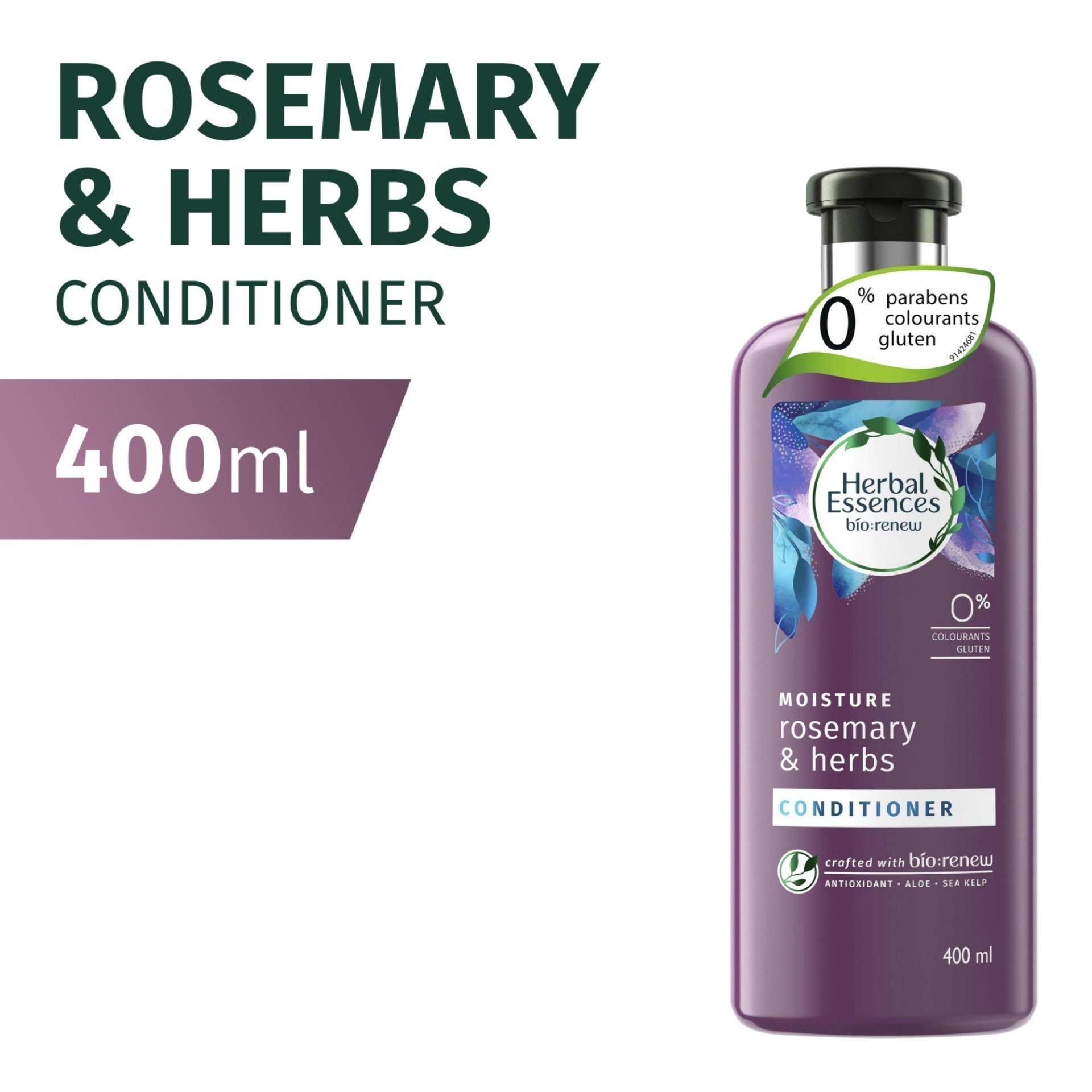 Herbal Essences Bio:Renew MOISTURE Rosemary & Herbs Conditioner 400ml