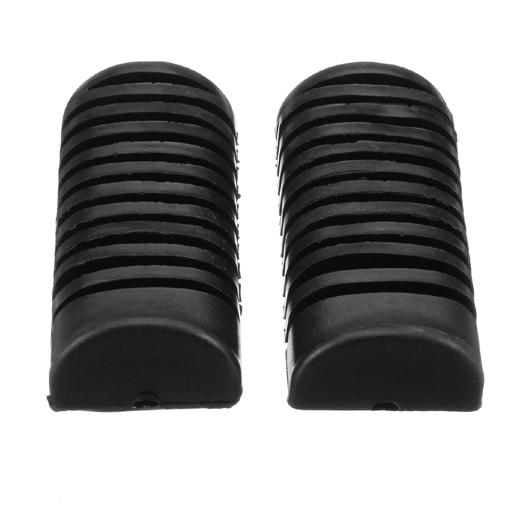 Moto Accessories - 2 PIECE(s) Motorcycle Front Footrest Foot Pad Pegs Rubbers For Honda CG125 CB100N - Motorcycles, Parts
