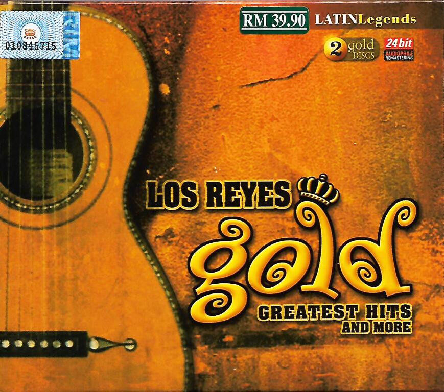 Latin Legends Los Reyes - Gold Greatest Hits And More 2CD Gold Discs 24 Bit Audiophile Remastering