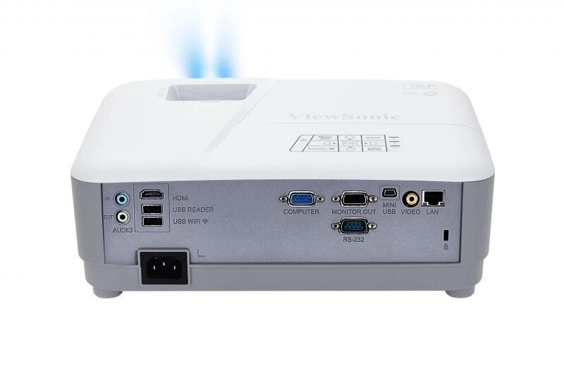 ViewSonic Projector PG603X with XGA Resolution (1024 x 768), 3600 Lumens, 15000 Hours Lamp Life in Eco Mode