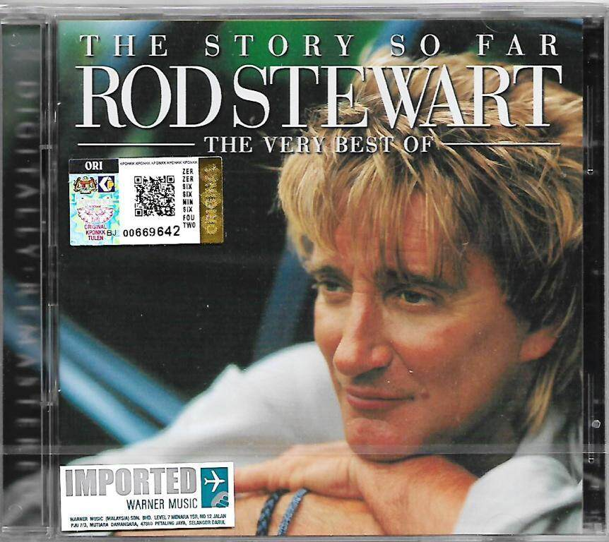 Rod Stewart The Story So Far Very Best of Imported 2CD