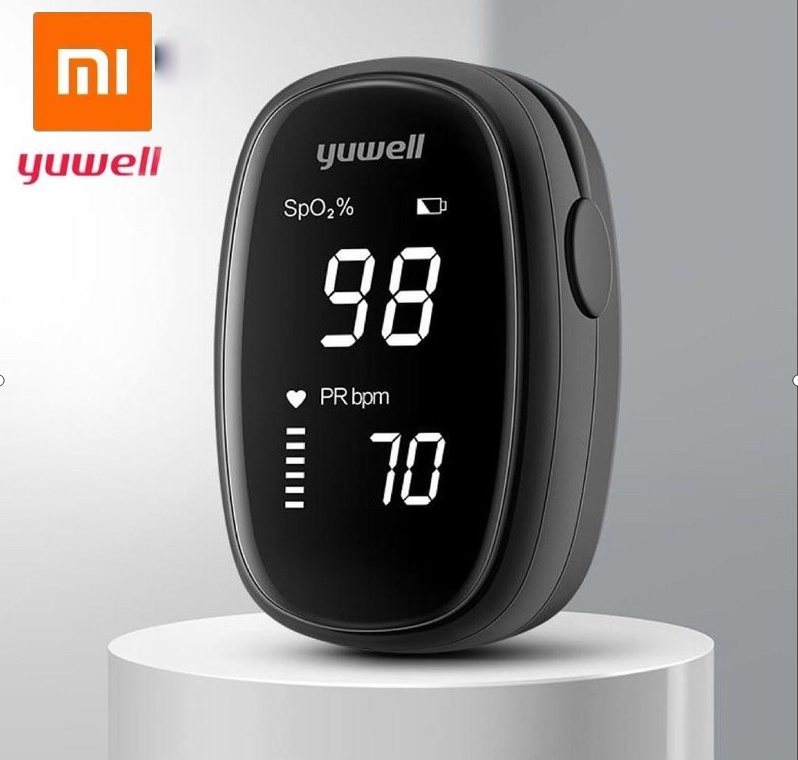(Malaysia Ready Stock)Xiaomi Yuwell Oximeter OLED Finger Pulse Oximeter Finger Clip Preventive Heart Pulse Oximeter Heart Rate Low Voltage
