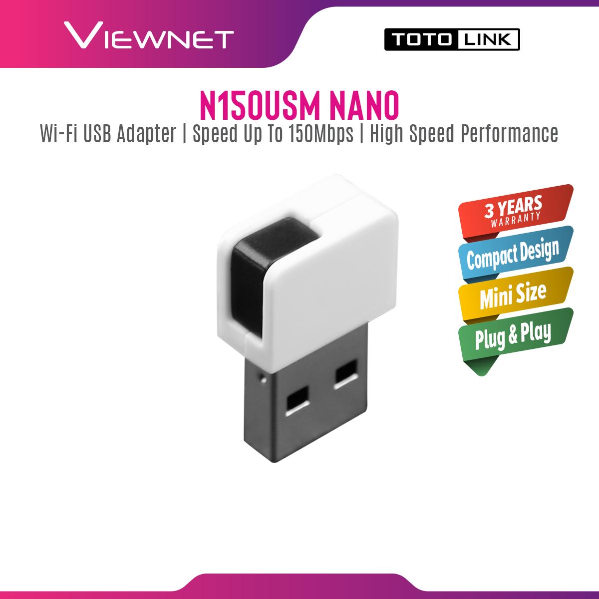 TOTOLINK WIRELESS USB ADAPTER TOTOLINK N150USM