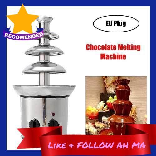 Best Selling Chocolate Fountain Chocolate Waterfall Melting Machine Stainless Steel (Standard)