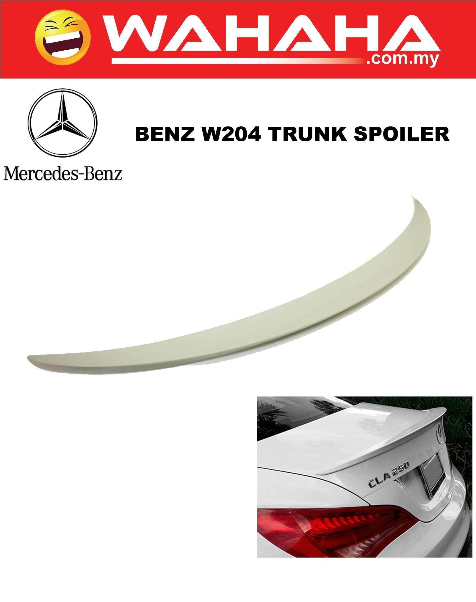 Mercedes Benz W204 Trunk Spoiler AMG Look Polyurethane Material