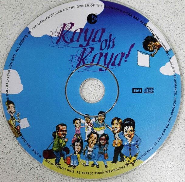 Hari Raya Album - Raya Oh! Raya CD Awie Sheila Majid Saloma Hassan Mael Ziana Zain Ruffedge Sudirman