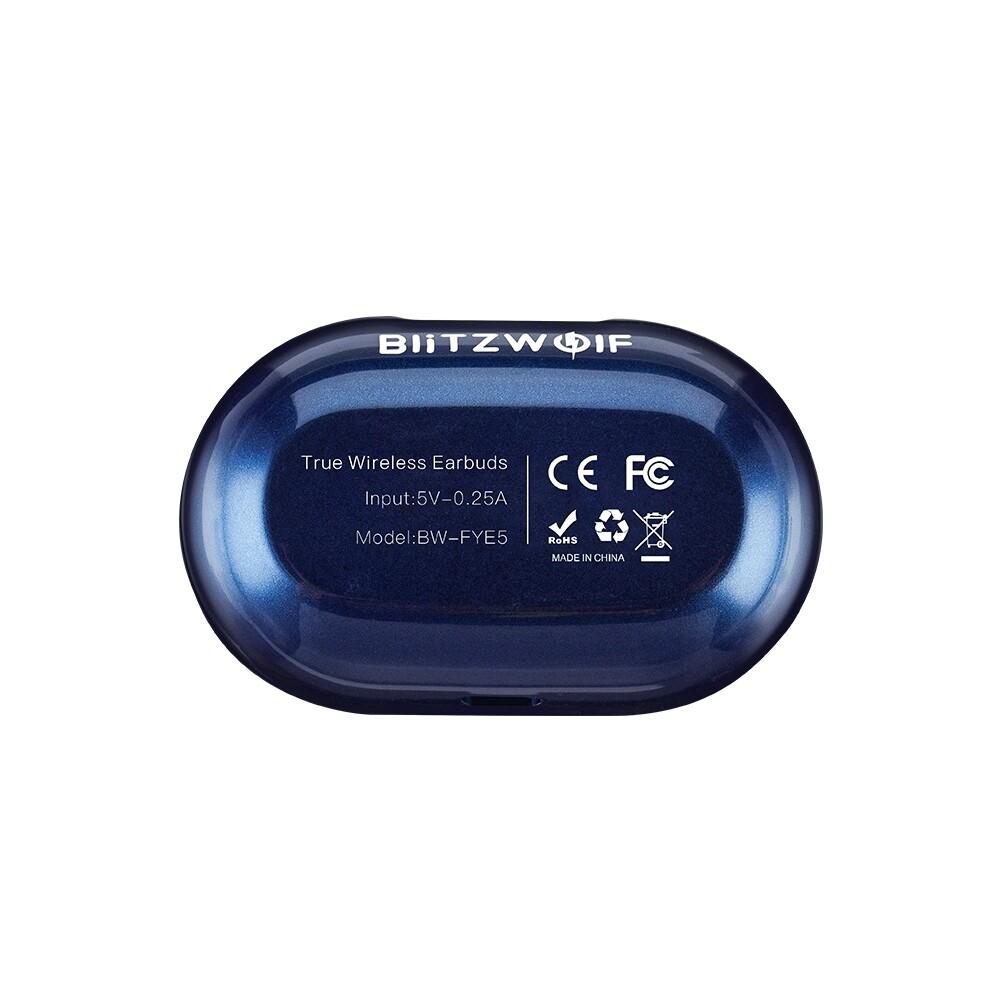 On-Ear Headphones - Blitzwolf00ae BW-FYE5 MINI True Earbuds Stereo Earphone PORTABLE Charging Box - Audio