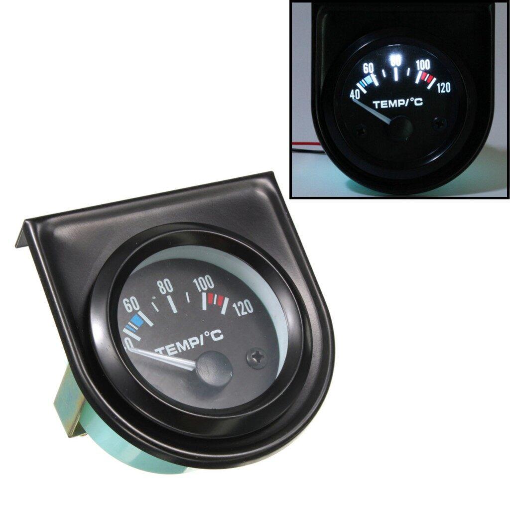 Tyres & Wheels - UK - 2 52mm Car Pointer Water Temperature Temp Gauge - Car Replacement Parts