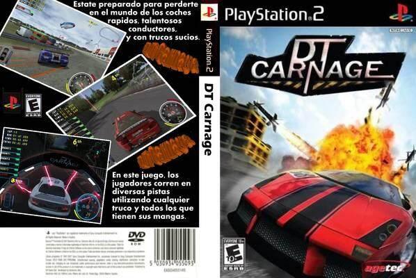 Ps2  DT carnage