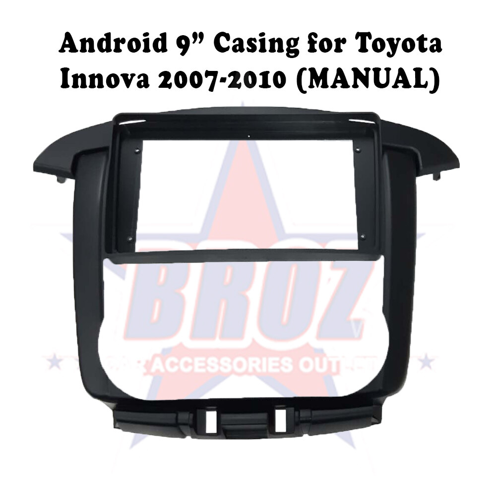 9 inches Car Android Player Casing for Innova 2007 (Manual)