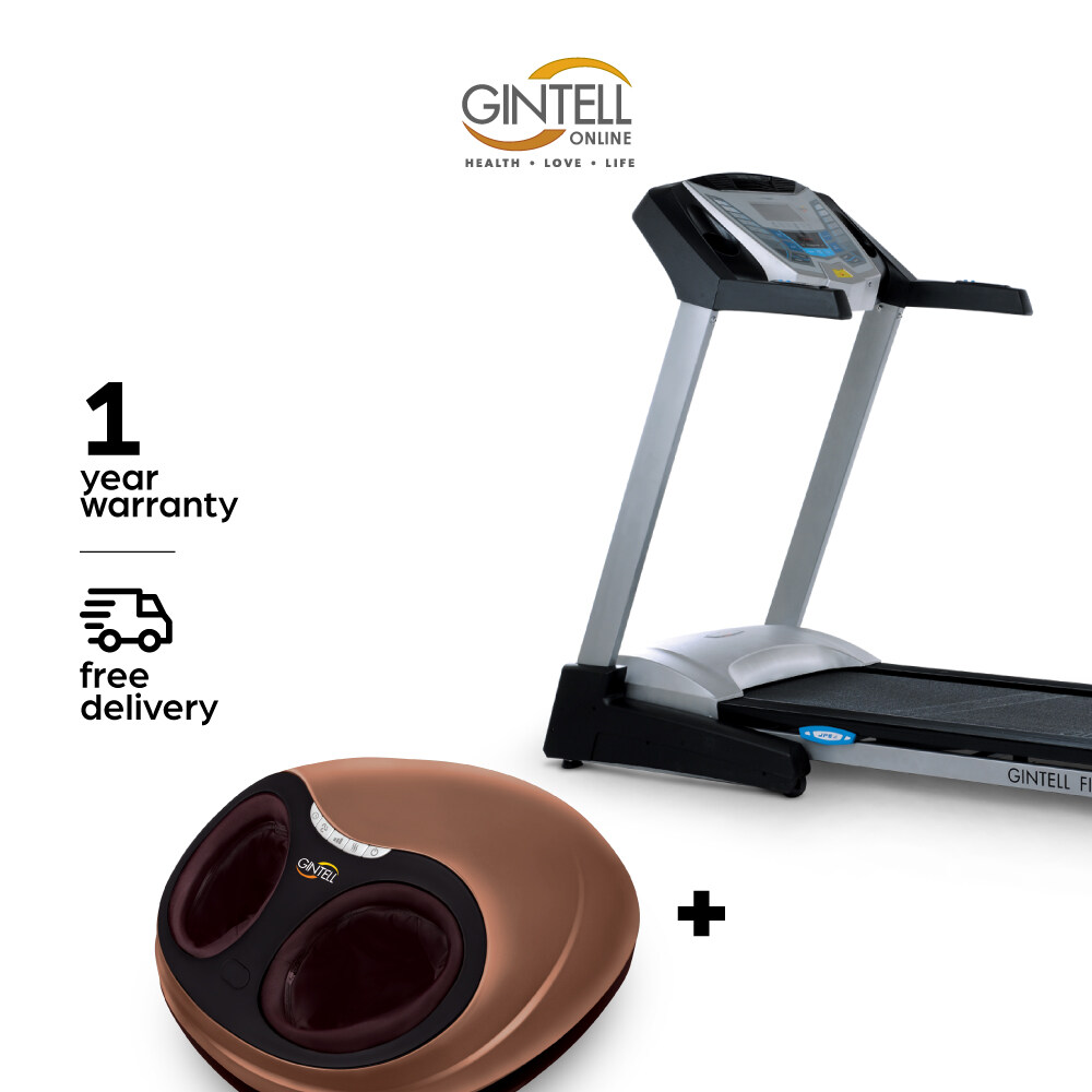 GINTELL CyberAIR Compact Treadmill FT460 (New) + G-Beetle