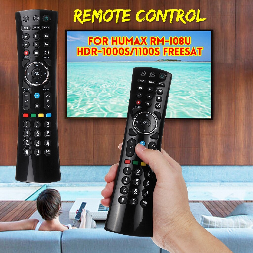 DIY Tools - Replacement Remote Control For Humax DTR-T1000 RM-I08U HDR-1000S/1100S Freesat - Home Improvement