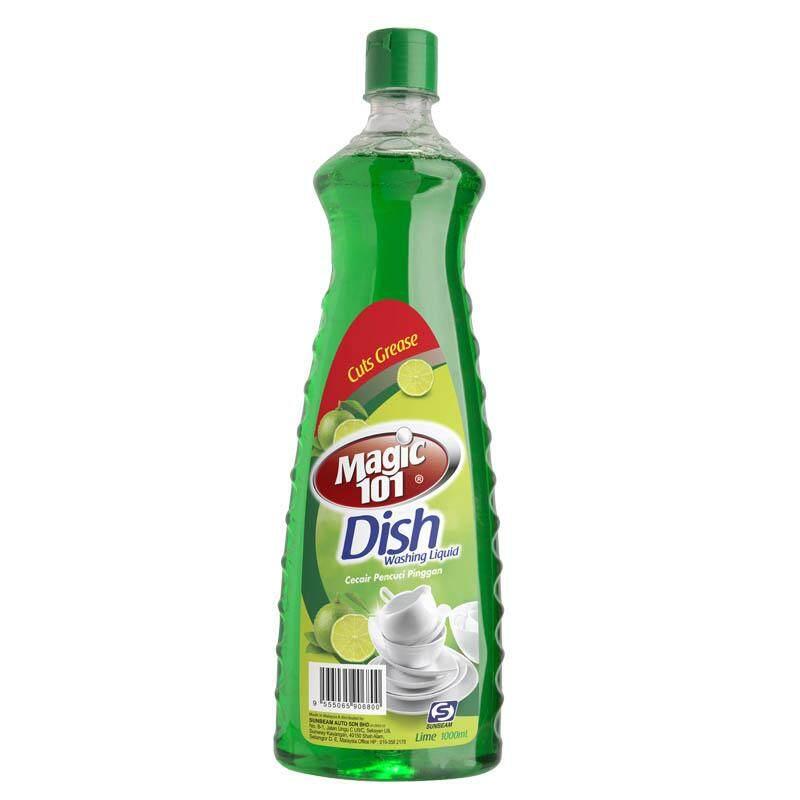 Magic101 Dishwashing Liquid 1000ml - Lime