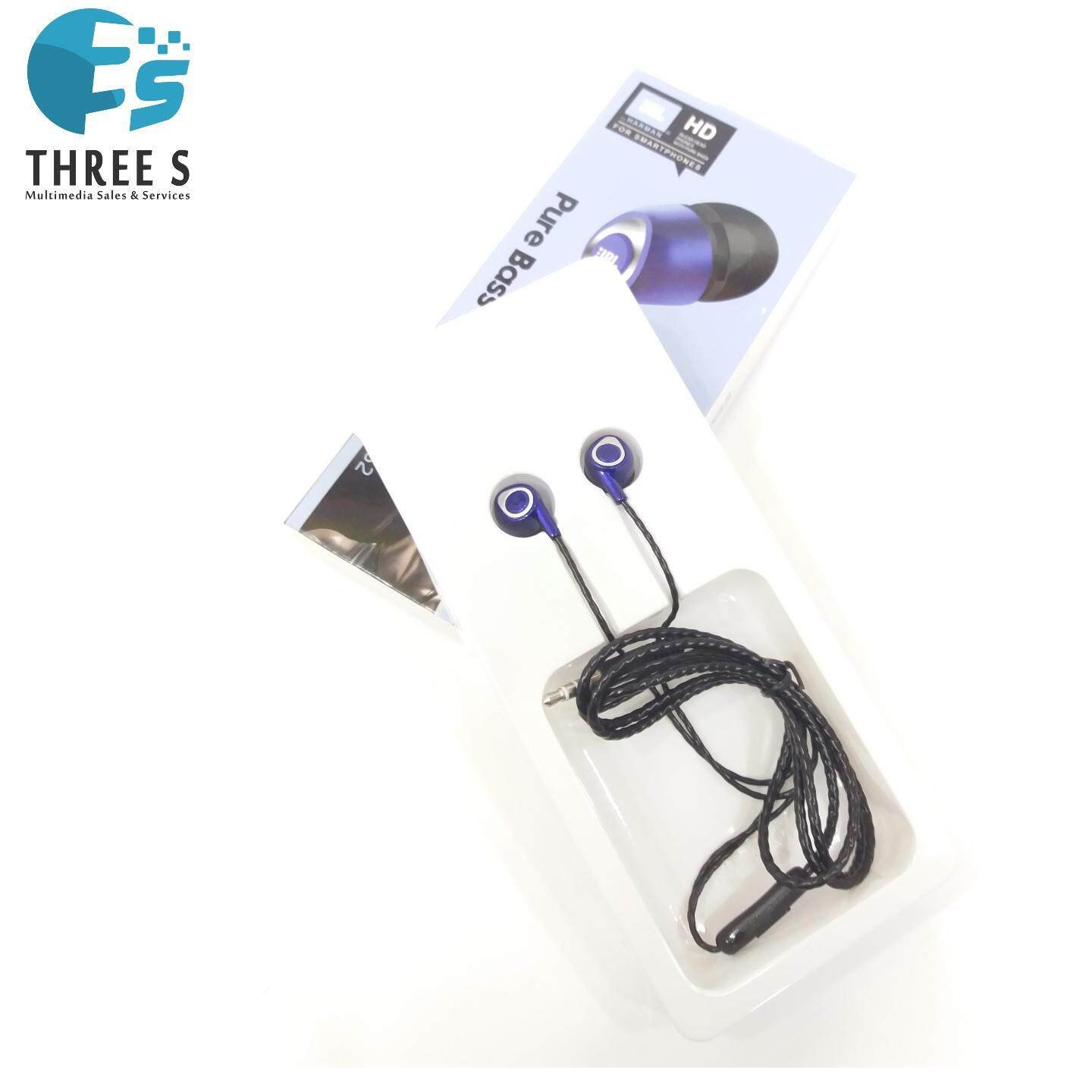 READY STOCK-JBL J-352 PURE BASS EARPHONE