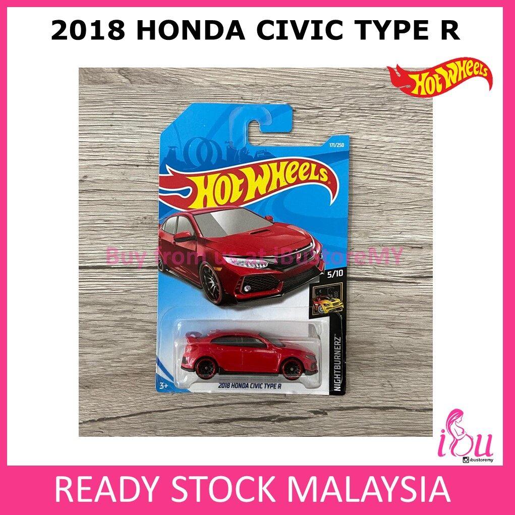 Hot Wheels 2018 Honda Civic Type R Hotwheels