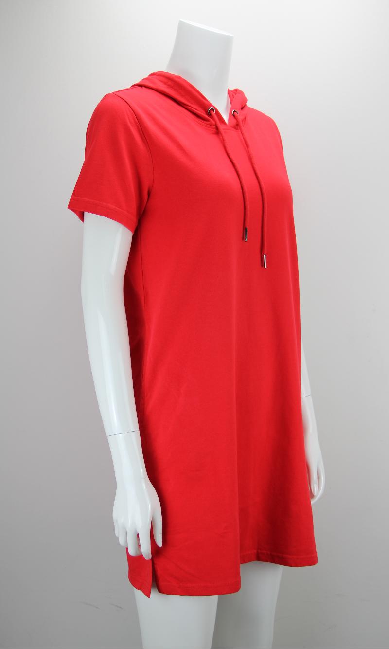 GOGGLES Short Sleeve Hoodie Dress 120569