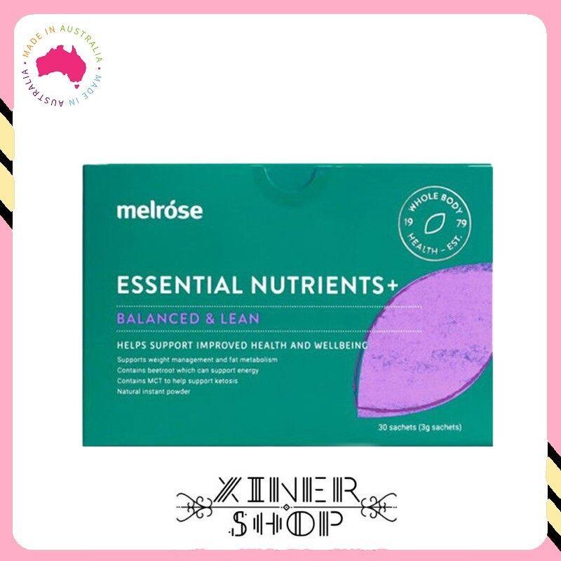 [Pre Order] Melrose Essential Nutrients Balanced & Lean ( 30 x 3g )(Made in Australia)