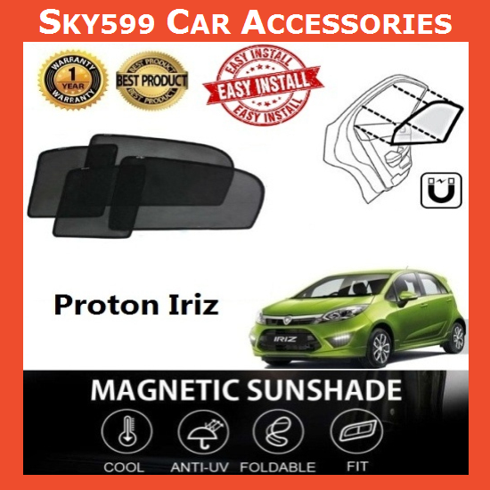 Proton Iriz Magnetic Sunshade ?4pcs?