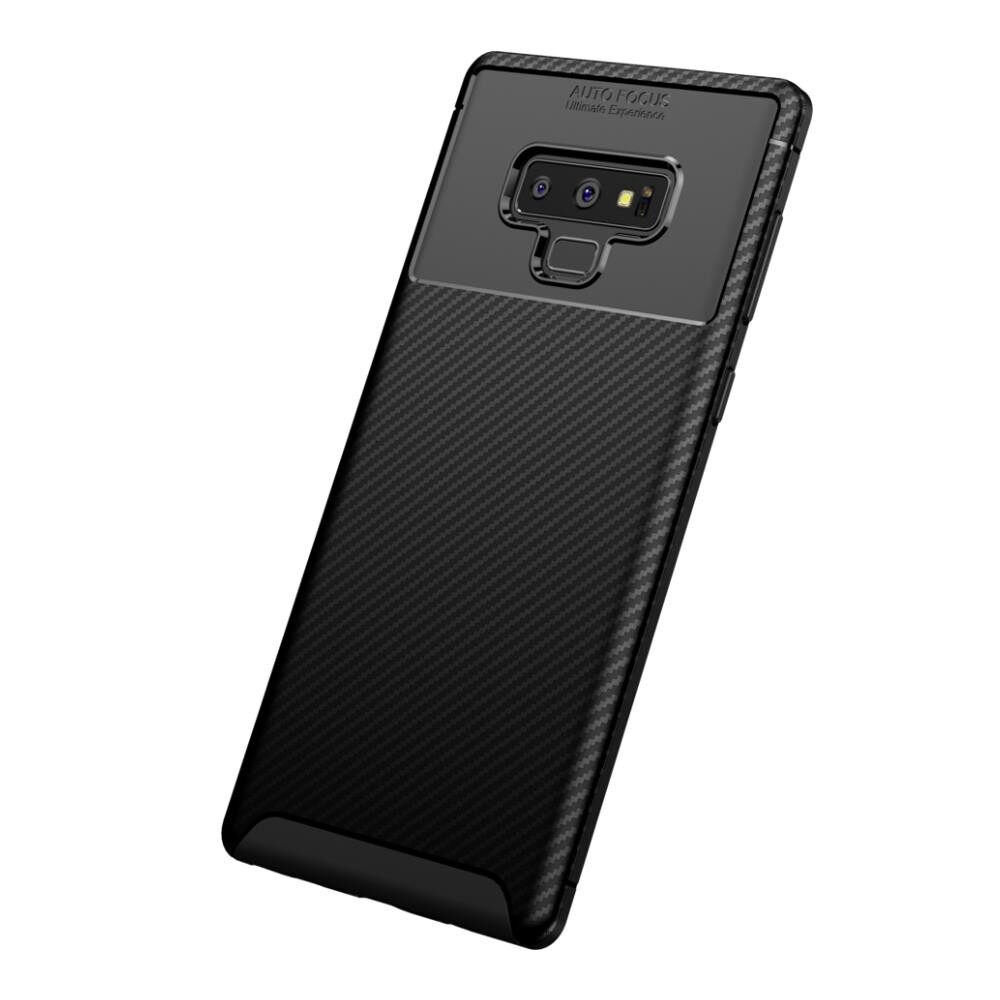 iPh Soft Cover - Protective Case For SamsungNote 9 Slim Soft TPU Back Cover - BLACK / BROWN / BLUE