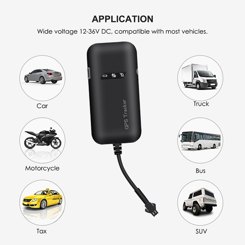 GT02 MINI Car GPS Tracker TKRealtime GSM GPRS GPS Locator Vehicle Tracking Device Google Link