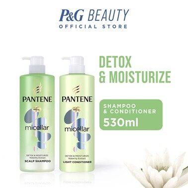 Pantene Micellar Detox & Moisturize Shampoo & Conditoner 530ML