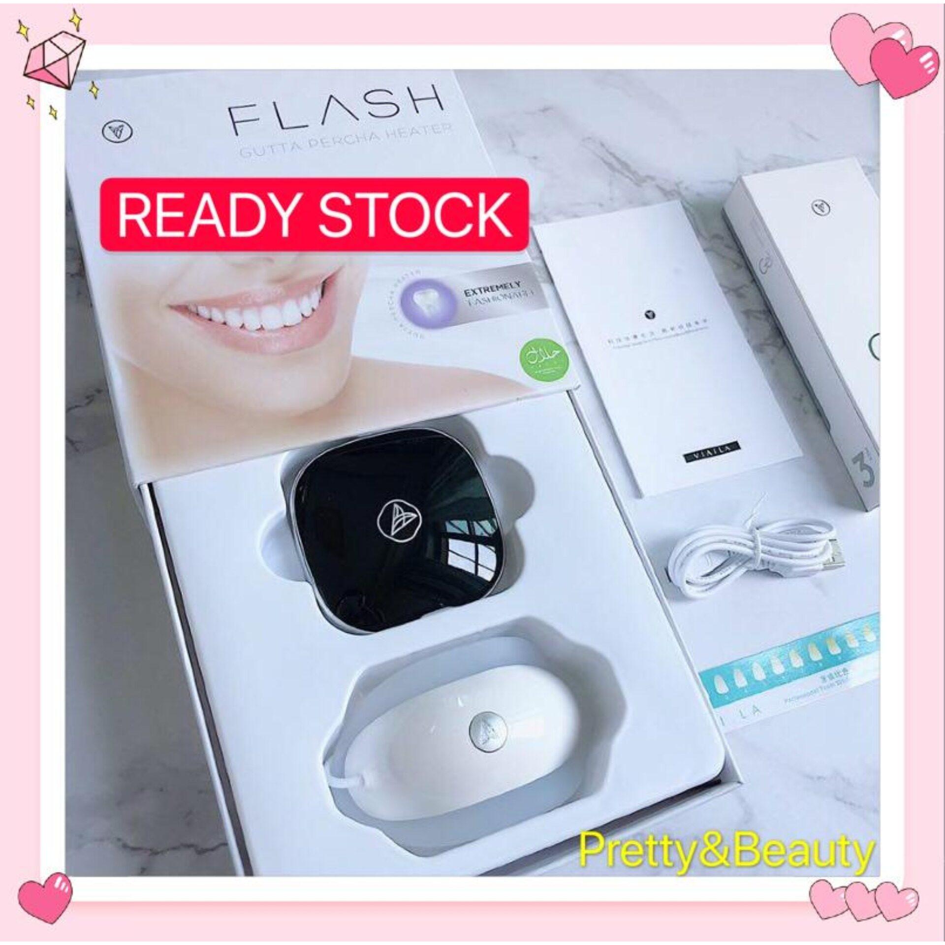 [READY STOCK] VIAILA Teeth Cold White whitening (第四代) 美牙白仪 (3支凝胶)