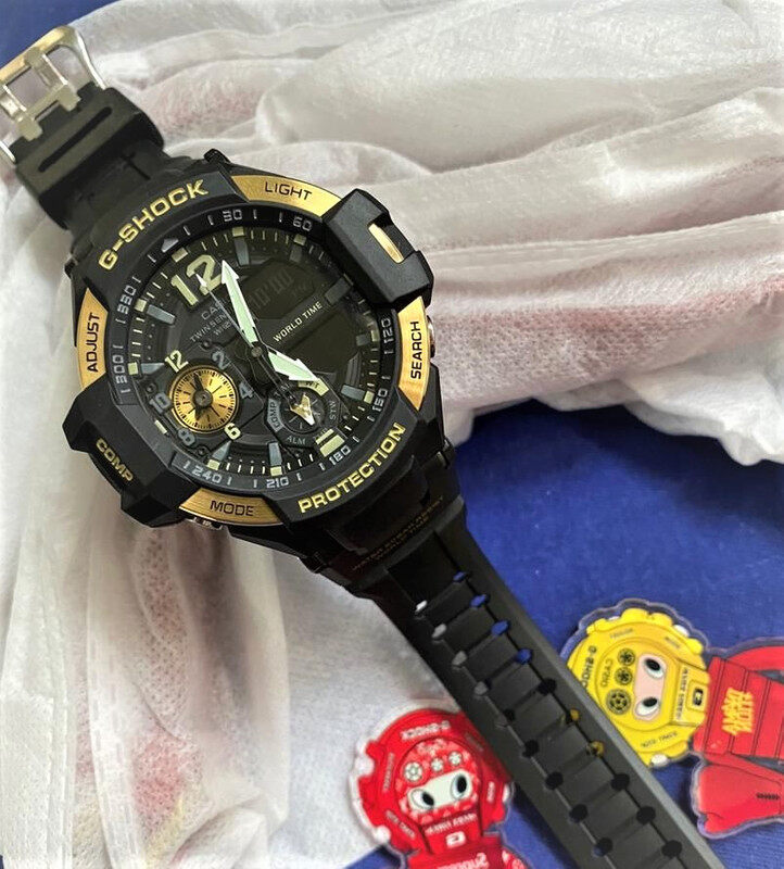 Sports Collection G_SHOCK_GA_1100 Autolight Unisex Watch Full Set All In One Edition Limited Stock Fast Delivery Service