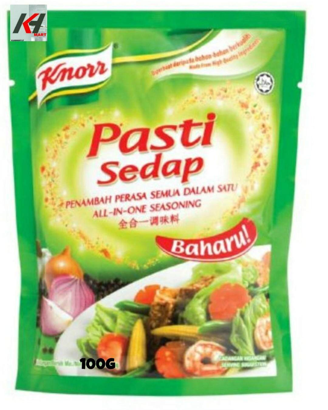 KNOR RALL IN ONE SEASONING - PASTI SEDAP 100G READY STOCK