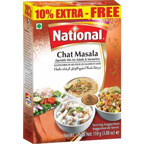 NATIONAL CHAT MASALA 50 GM