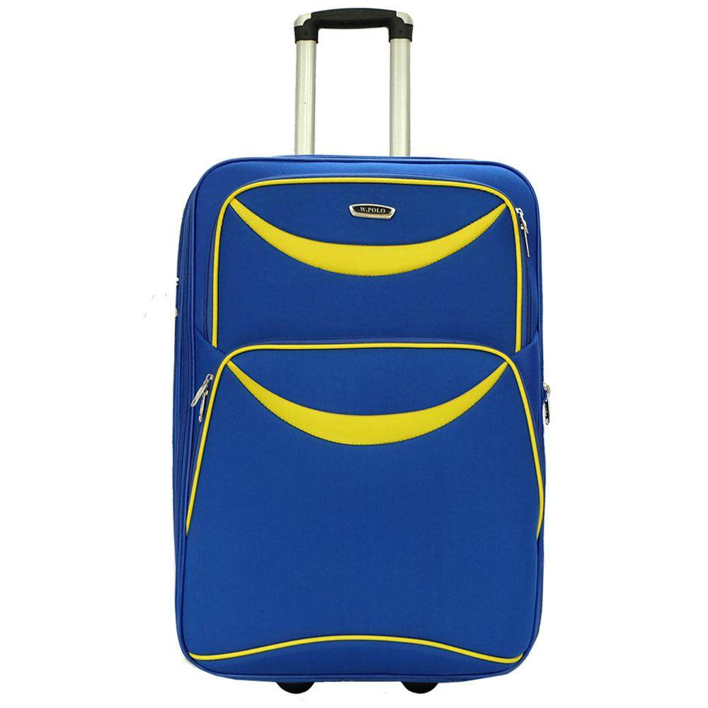 W.POLO 24 inch 2 Wheels EVA Trolley Case- WE1687 ( Blue/Yellow)