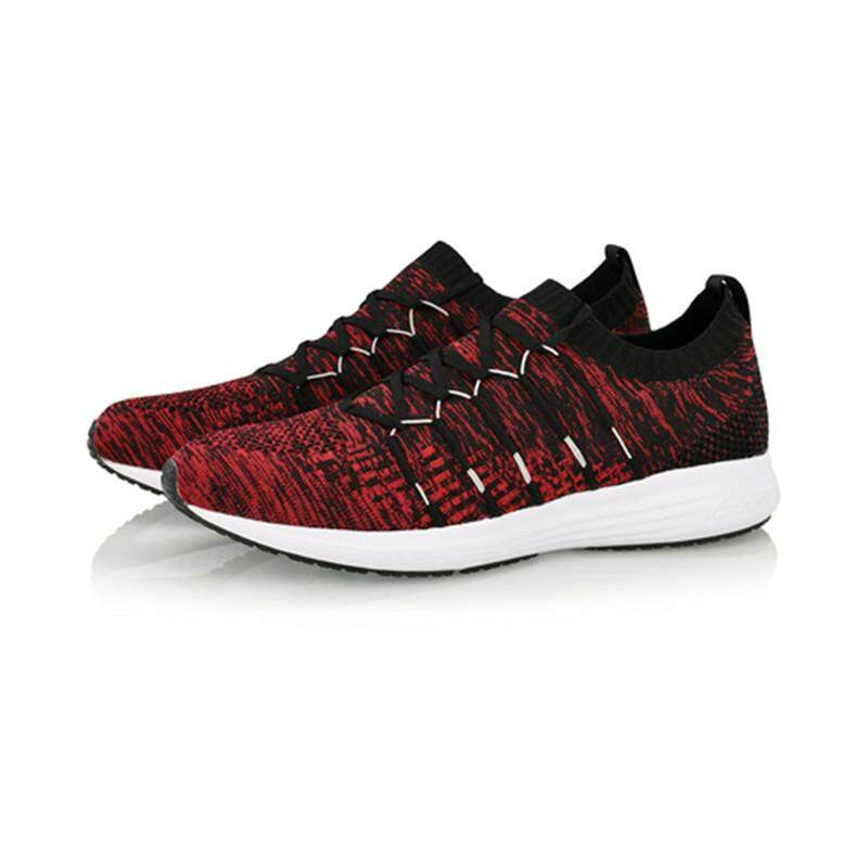 Li-Ning Cushion Running Shoes - Red ARHN109-5
