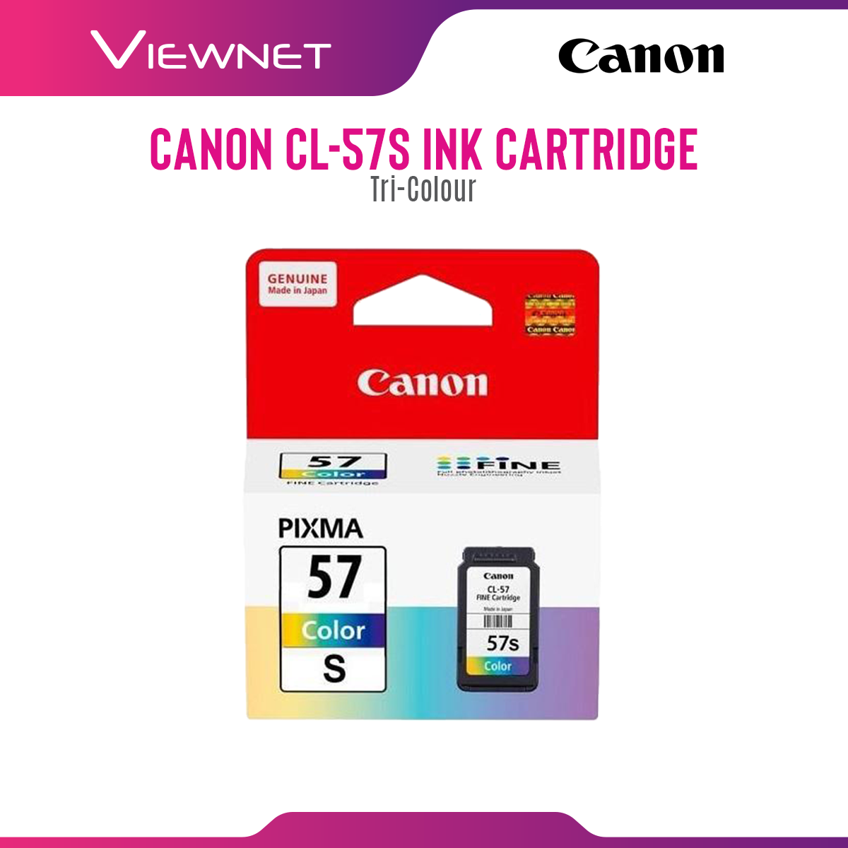 Canon CL-57S (Colour) Ink Cartridge