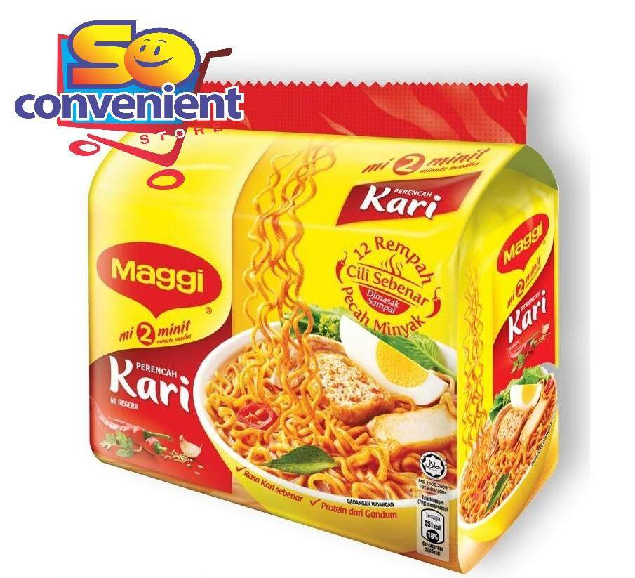 Maggi Two Minute Curry 5 Packs x 79g