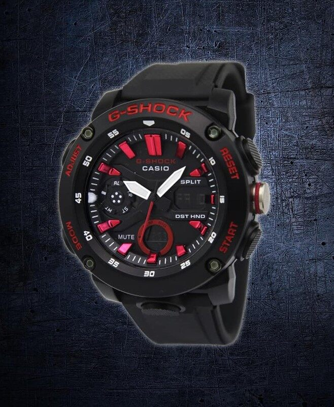 Rubber Straps Sport collection Casio_G_SHOCK_Dual Time Display Watch For Unisex