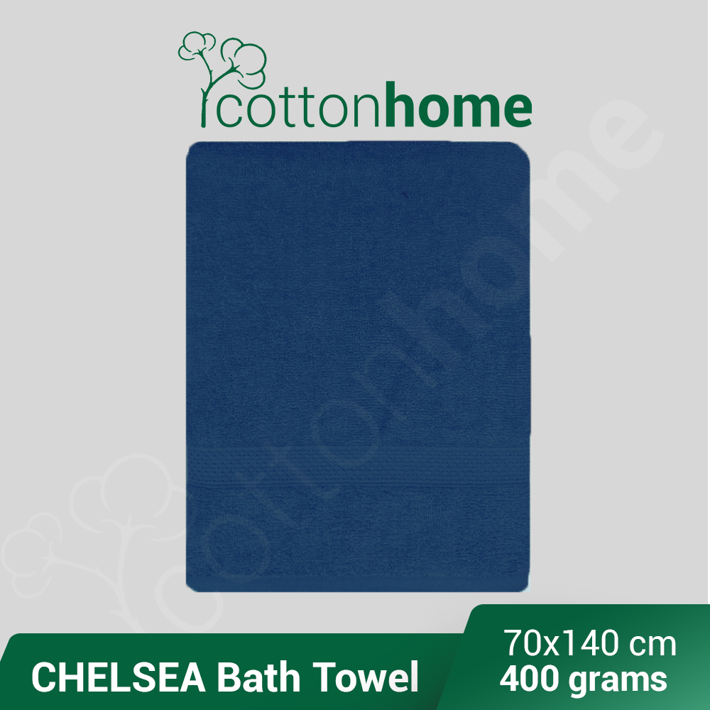 Chelsea Home Towel (400 Grams): 100 % Natural Cotton 70x140 cm (Factory Clearance) / READY Stock / Popular Hot product / Water Absorbent