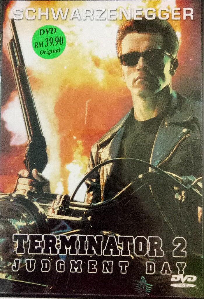 English Movie Terminator 2 Judgement Day DVD Arnold Schwarzengger
