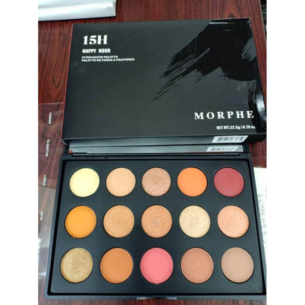 FREE GIFTMORPHE 15H Happy Hour Eyeshadow Palette