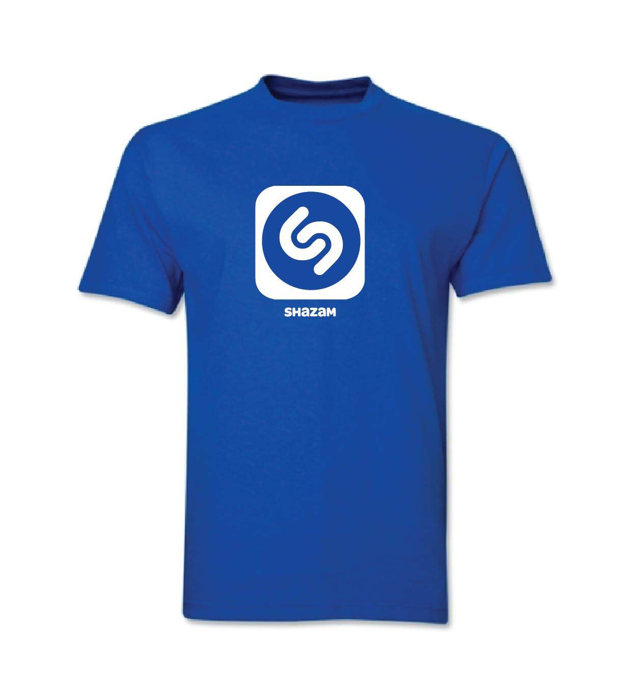 T-Shirt SHAZAM 100% Cotton Baju Tshirt Hitam Putih bossku