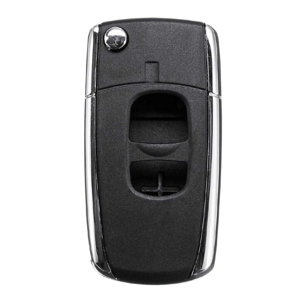 Automotive Tools & Equipment - 2 Btn Remote Flip Folding Key Shell Case For Mazda 2/3/5/6/MX-5/RX-8 Ford Ranger - Car Replacement Parts