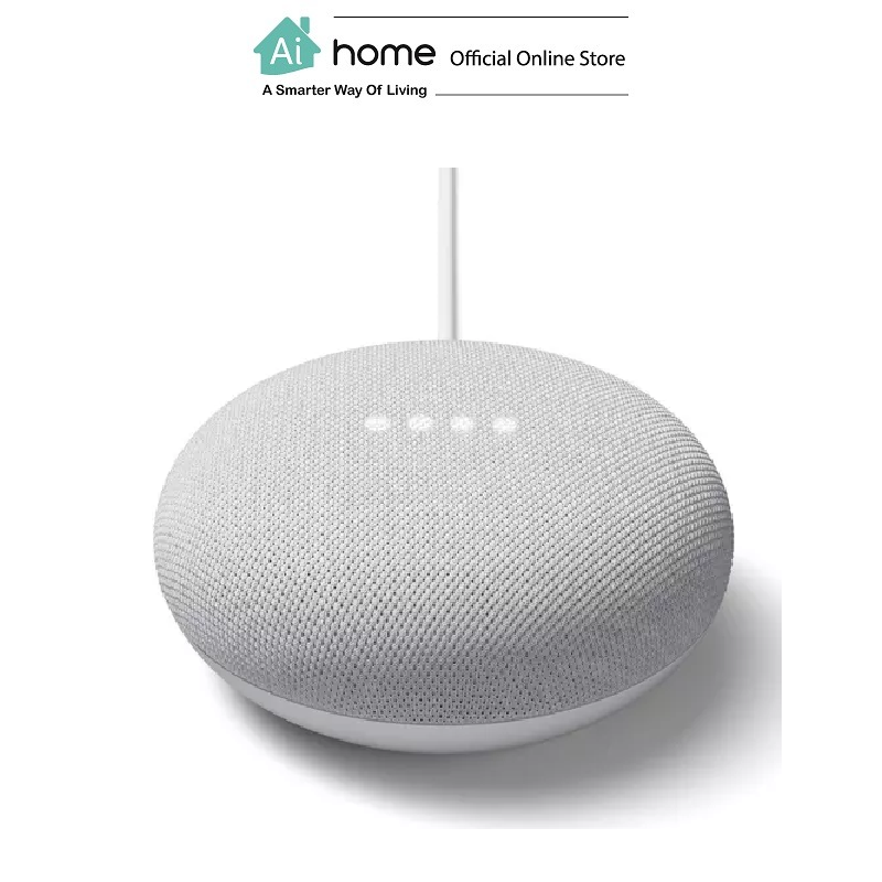 GOOGLE NEST Mini 2nd Generation [ Smart Speaker ] Build in Google Assistant with 1 Year Malaysia Warranty [ Ai Home ] GN2CK