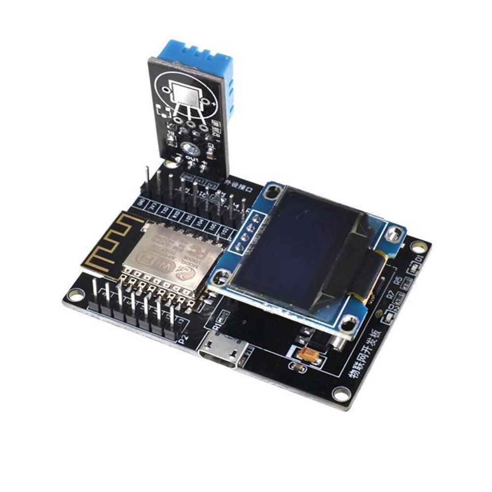 DIY Tools - ESP8266 IoT Development Board +DHT11 Temperature and Humidity + Yellow Blue OLED Display SDK - Home Improvement