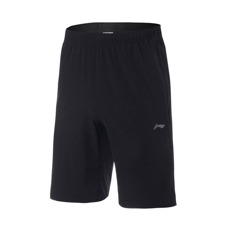 Li-Ning Men's Shorts - Black AKSQ099-1