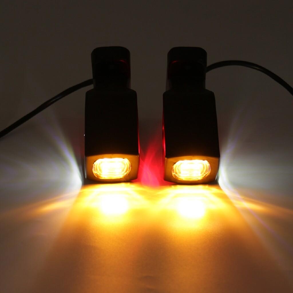 Car Lights - Pair 12V/24V Side Marker Light LED Indicator Lamp Car Truck Trailer Lorry Van - Replacement Parts
