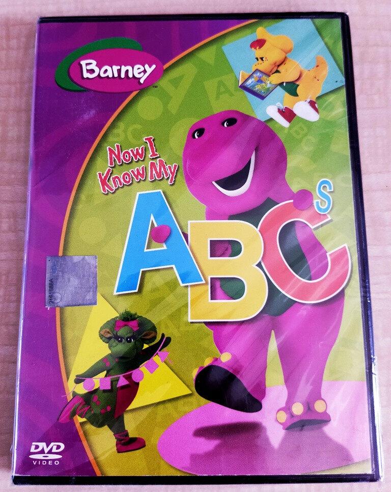 Barney The Dinosaurs : Now I Know My ABC\'s DVD Children Educational Program