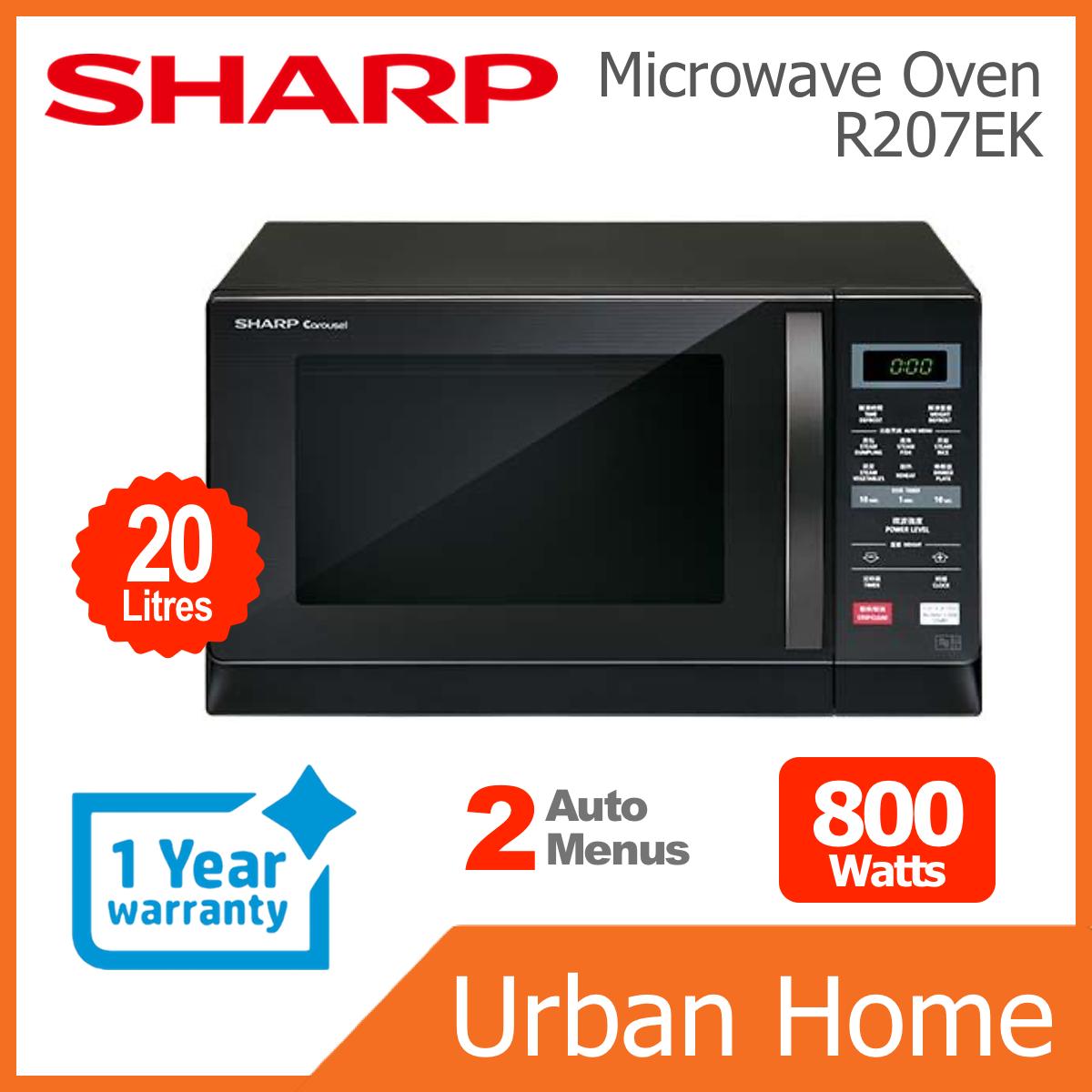 SHARP 20L 800w Digital Microwave Oven (R207EK)