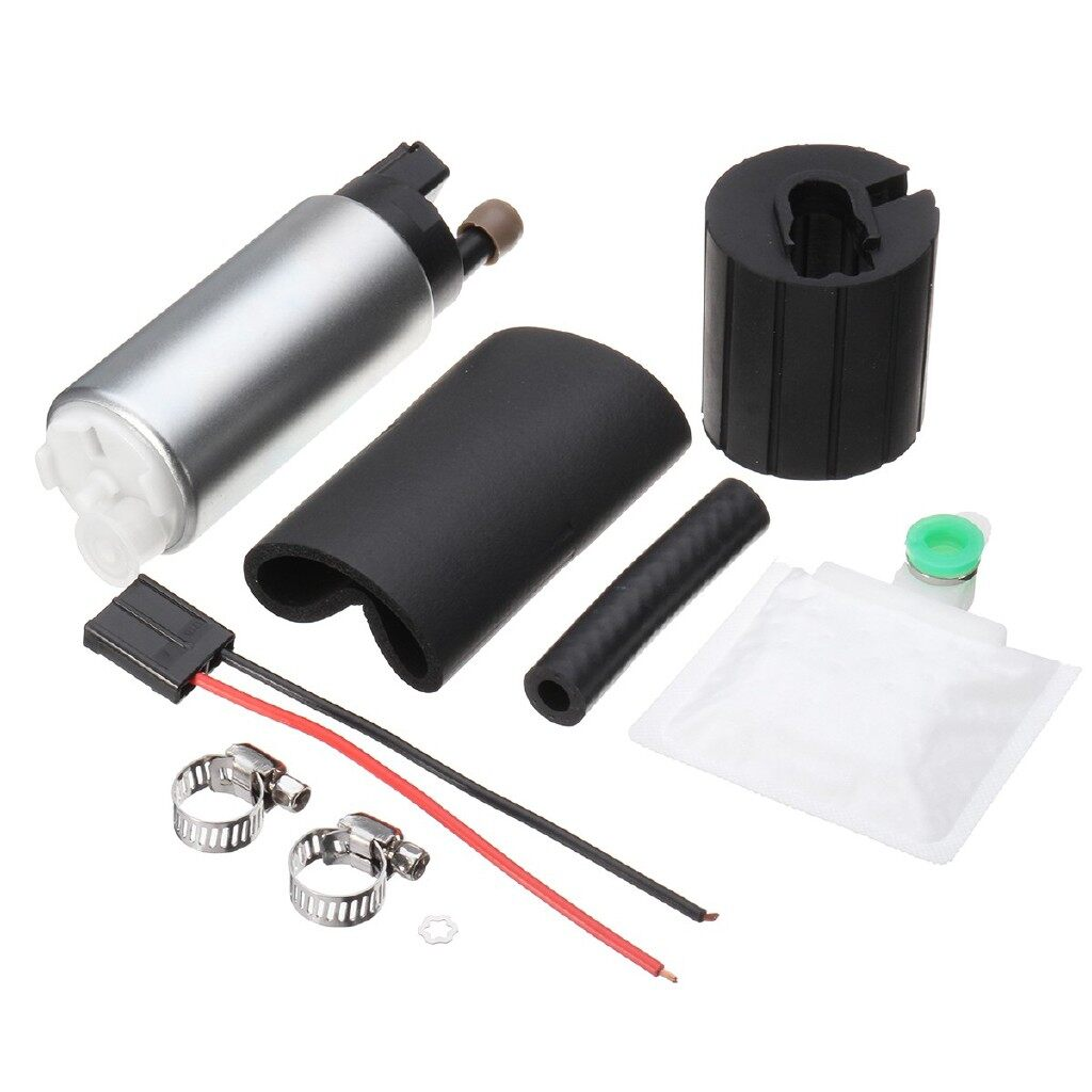 Engine Parts - WALBRO FUEL PUMP GSS342 + 255LPH 550HP KIT FOR HONDA - Car Replacement