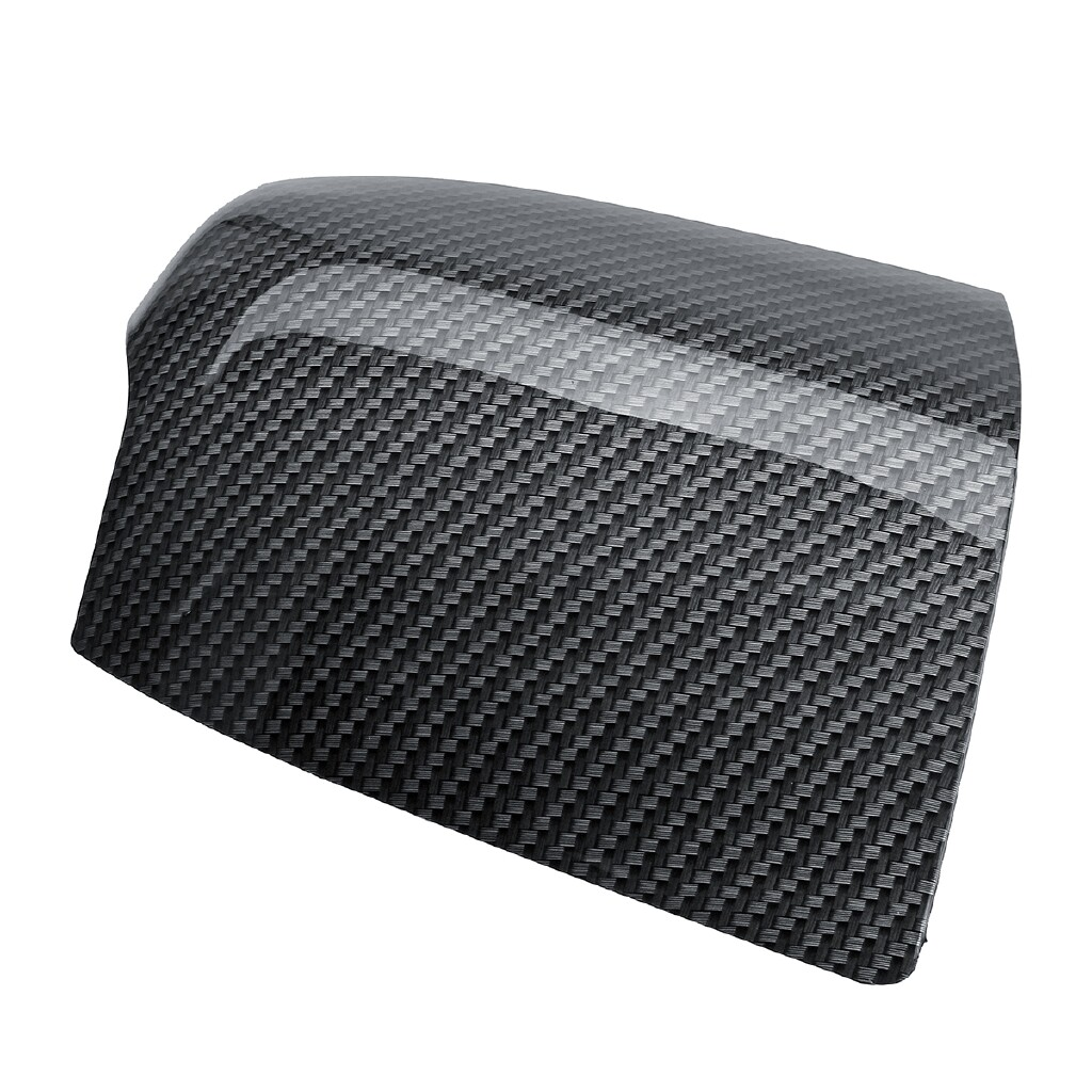 Car Accessories - Carbon Fiber Side Door N/S O/S Primed Wing Mirror Cover For Ford Focus Mk2 05-08 - Automotive