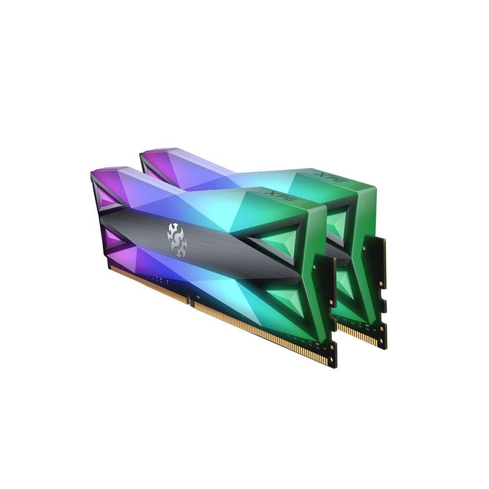 ADATA PC Desktop Ram DDR4 XPG SPECTRIX D60G RGB 16GB PC4133 (2x8GB) (AX4U413338G19J-DT60)